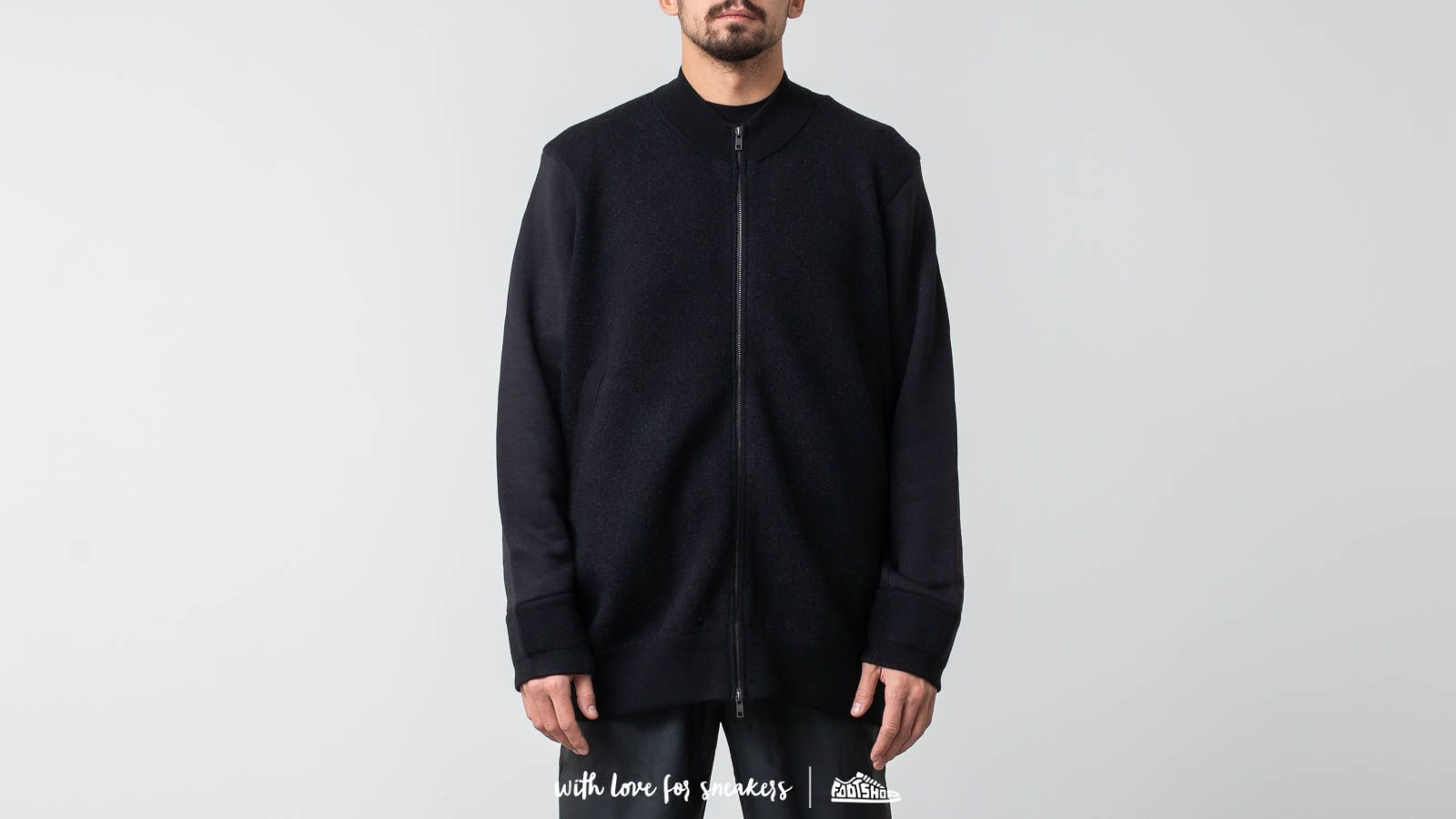 Y-3 Knitted Stacked Logo Blouson Black at a great price $688 buy at Footshop