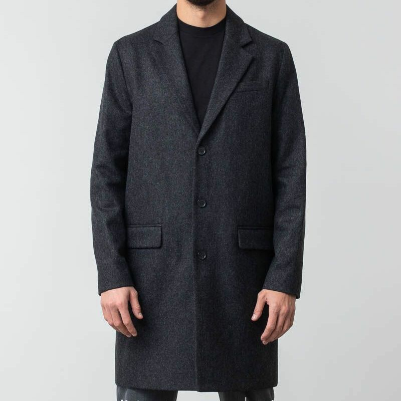 APC Manteau Majordome Coat Anthracite