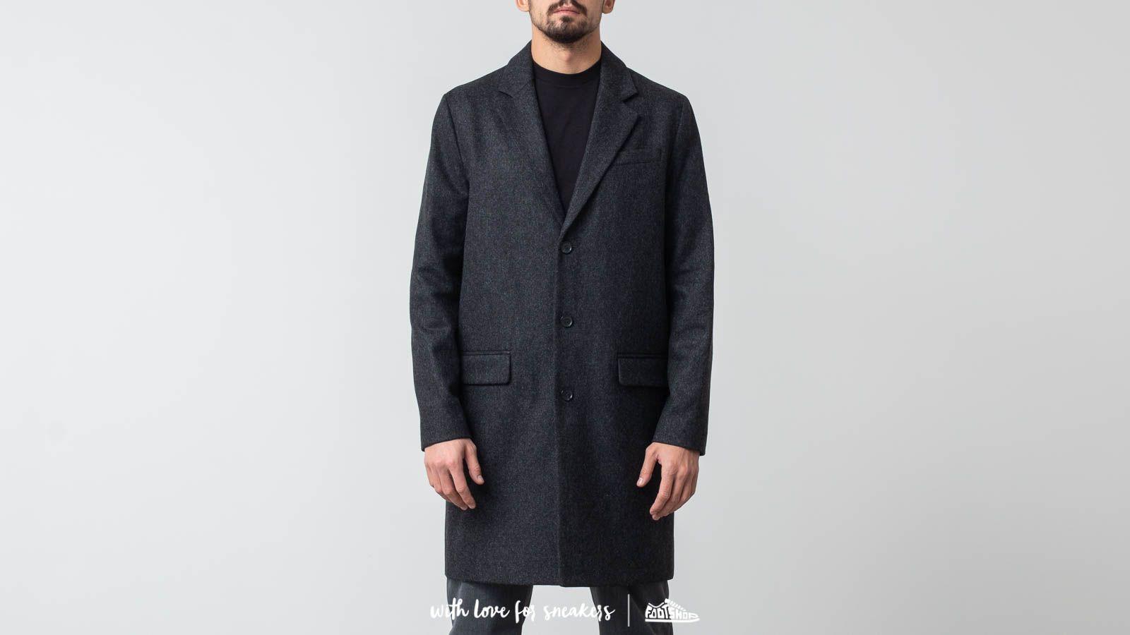 A.P.C. Manteau Majordome Coat Anthracite za skvělou cenu 7 290 Kč koupíte na Footshop.cz