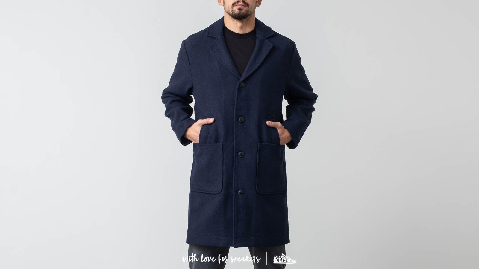 Carhartt WIP Jenison Coat Dark Navy za skvělou cenu 3 890 Kč koupíte na Footshop.cz