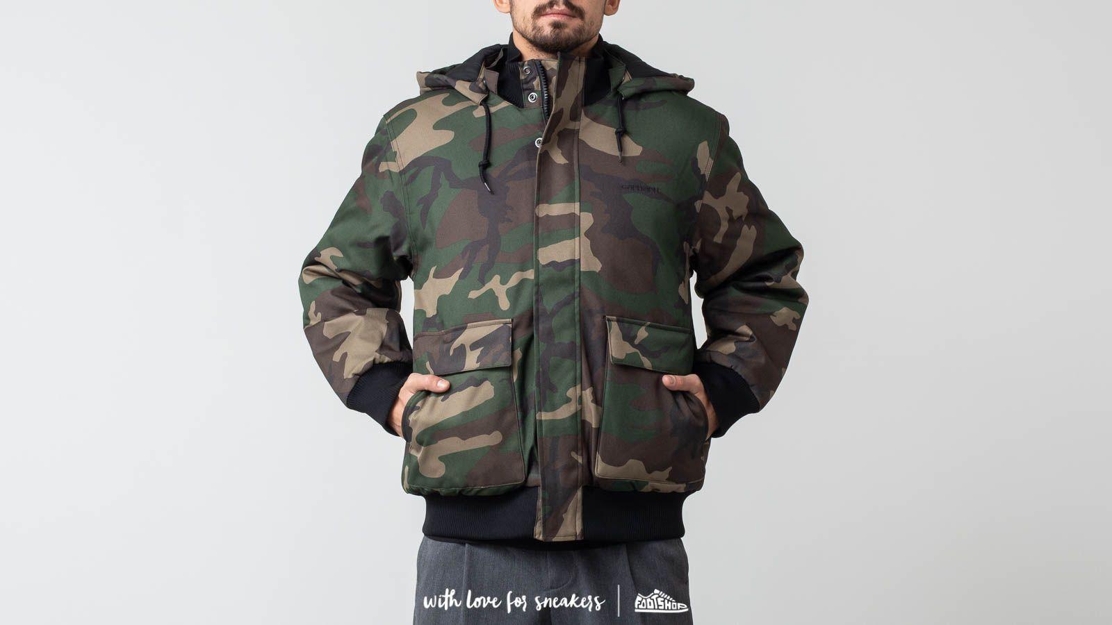 Carhartt WIP Payton Jacket Camo Laurel za skvělou cenu 3 114 Kč koupíte na Footshop.cz
