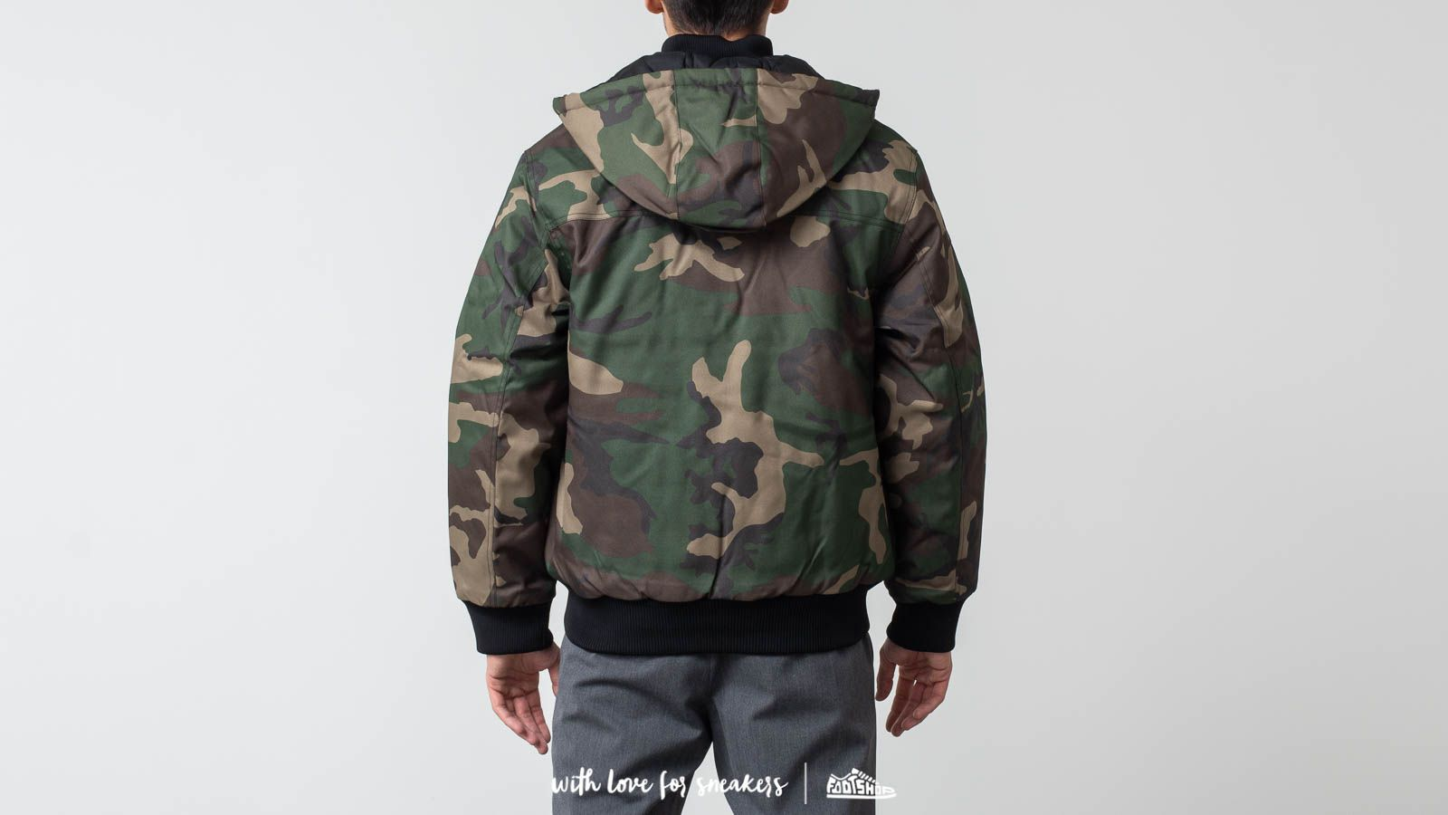classic style for whole family fast delivery Carhartt WIP Payton Jacket Camo Laurel | Footshop