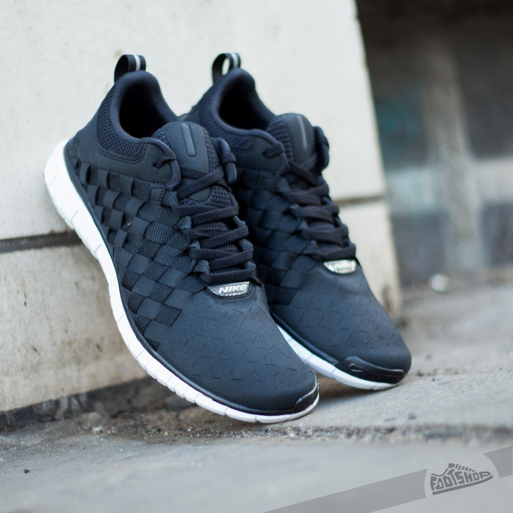 timeless design bf76d e9533 Nike Free OG  14 Woven Black