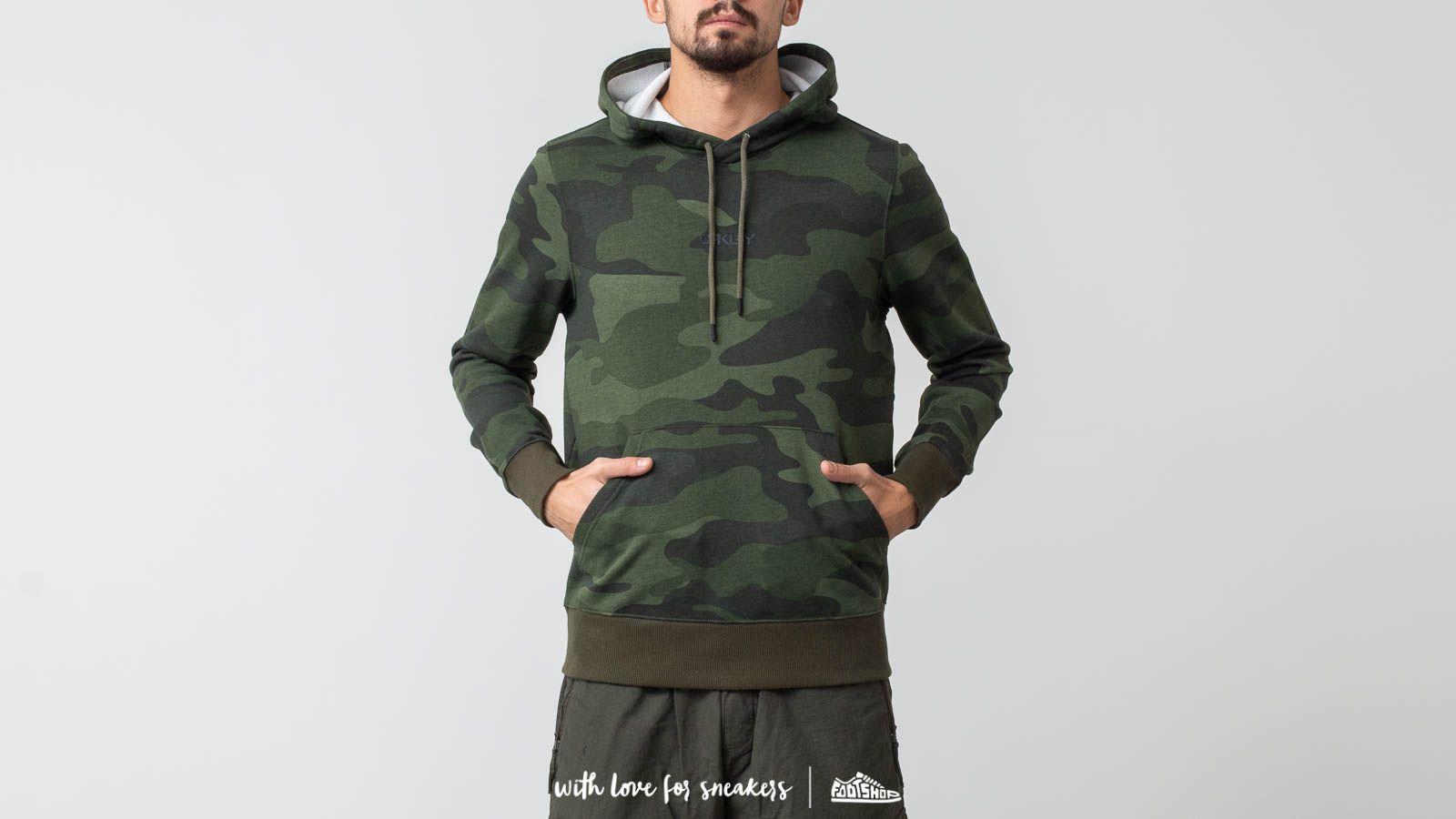 Oakley Street Logo Hooded Fleece Hoodie Core Camo za skvělou cenu 1 050 Kč koupíte na Footshop.cz