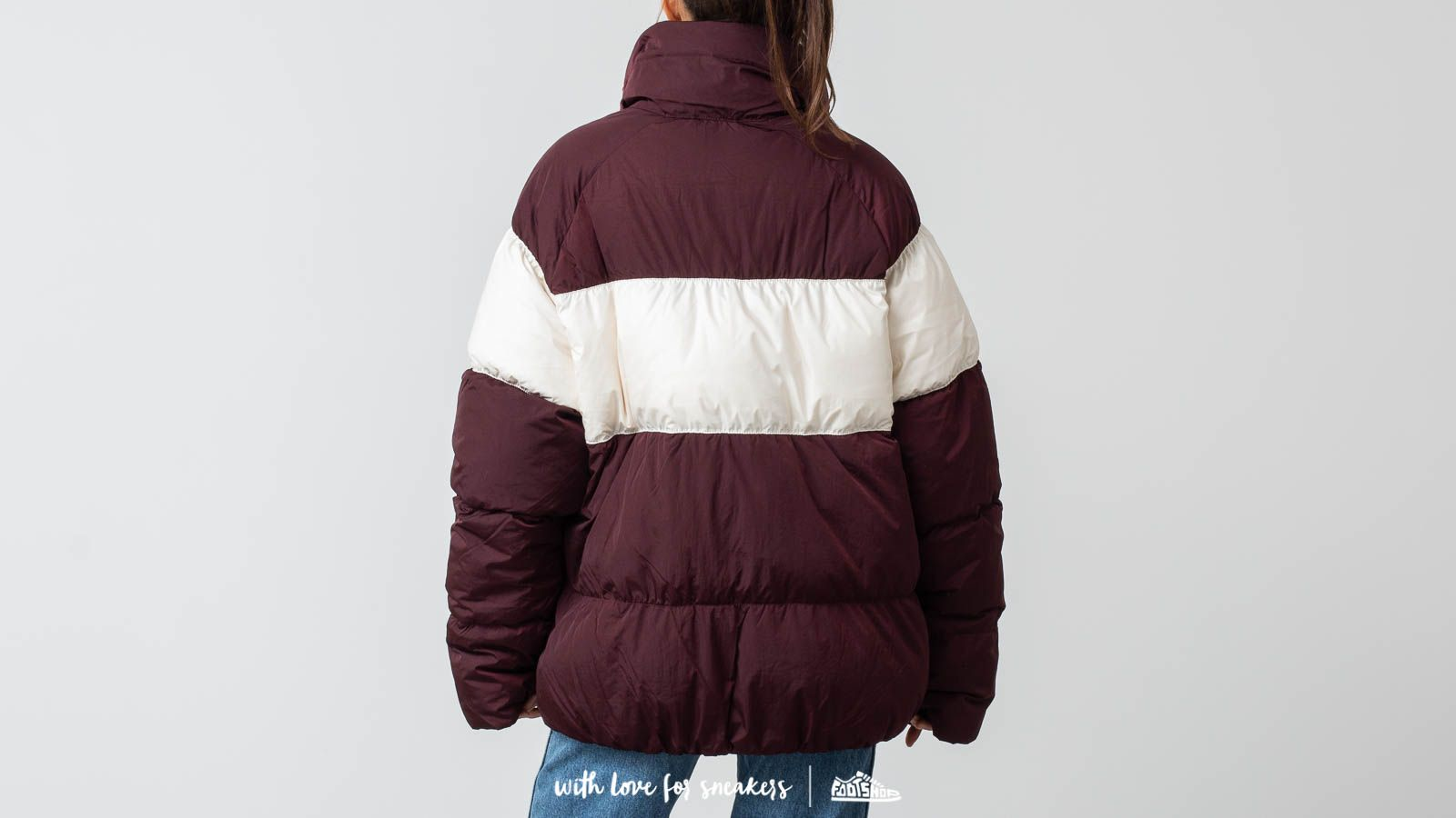 58db1e142eb2 Nike Nsw Down Fill Jacket Burgundy Crush  Light Cream at a great price  121  buy
