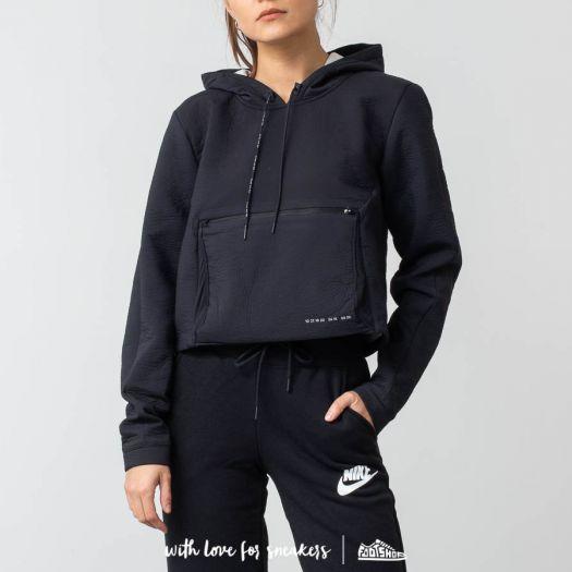 Triturado Poder Sympton  Sweatshirts Nike Sportswear Tech Pack Hoodie Packable Black