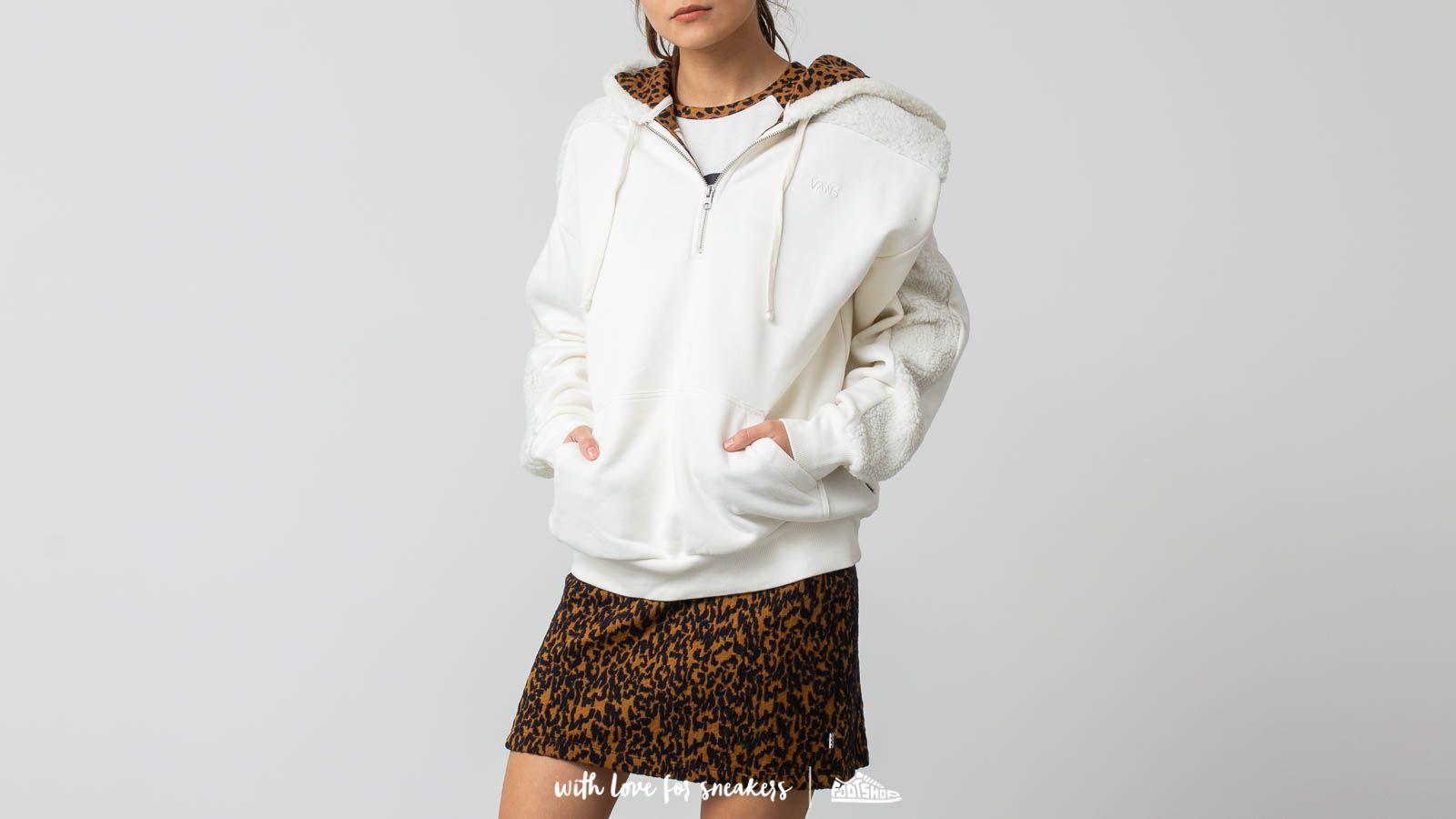 Vans Bopper Half Zip Pullover Hoodie Marshmallow za skvělou cenu 1 140 Kč koupíte na Footshop.cz