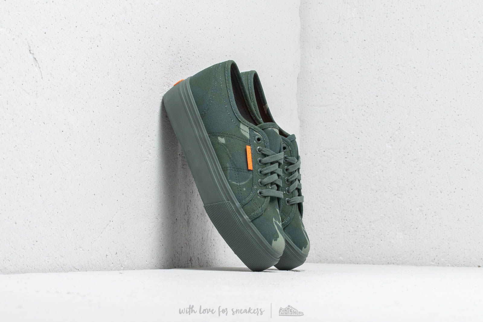 Frauen Superga 2790 Fancot W Island Camo Green