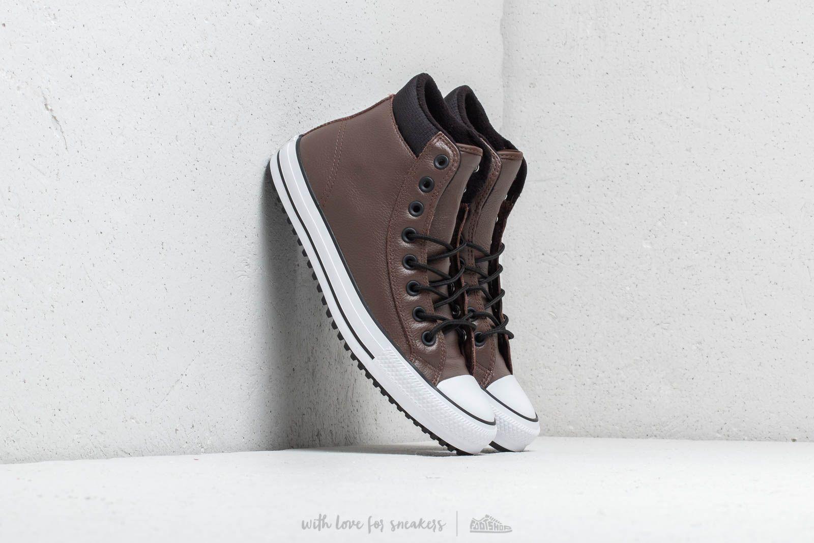Pánské tenisky a boty Converse Chuck Taylor All Star PC Boot Hi Chocolate/ Black/ White