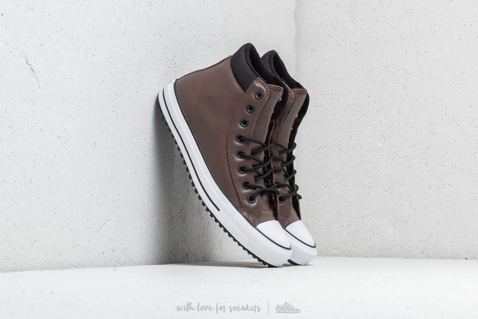 Converse Chuck Taylor All Star PC Boot Hi Chocolate  Black  White nagyszerű  árakon 35 f80acbe6ea