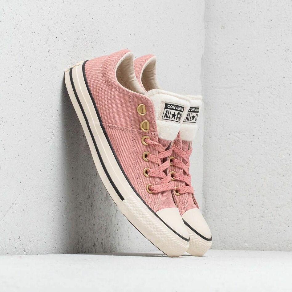 Converse Chuck Taylor All Star Madison OX Rust pink/ Natural Ivory/ Black EUR 37