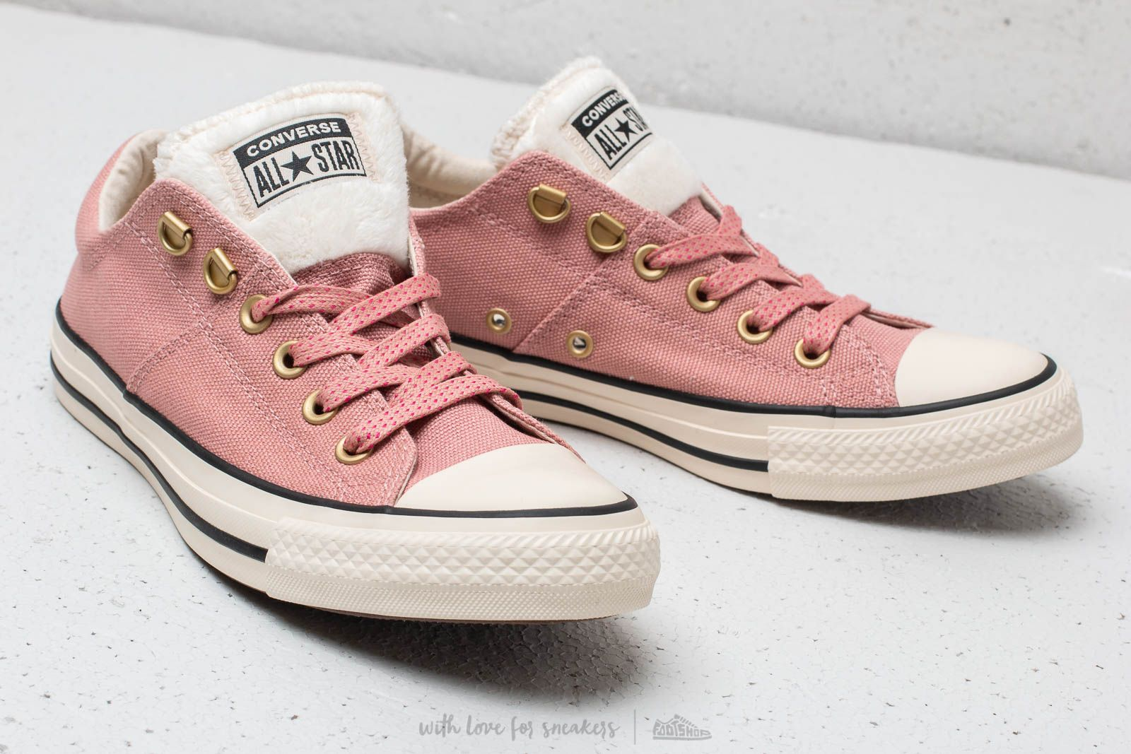 Converse Chuck Taylor All Star Madison OX Rust pink  Natural Ivory  Black  za skvělou c9aaf08a3c