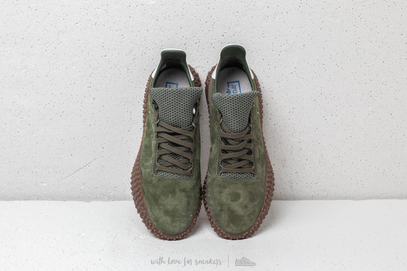 adidas Originals KAMANDA 01 (Adidas original ska Manda 01) BASE GREENBASE GREENCRYSTAL WHITE 18FW S