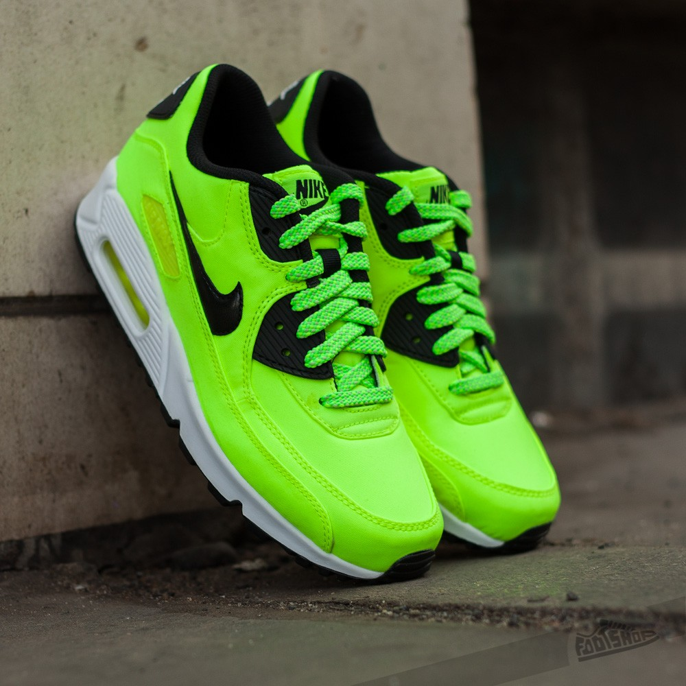 fc7f146e66 Nike Air Max 90 FB (GS) Volt/ Black/ Electro Green | Footshop