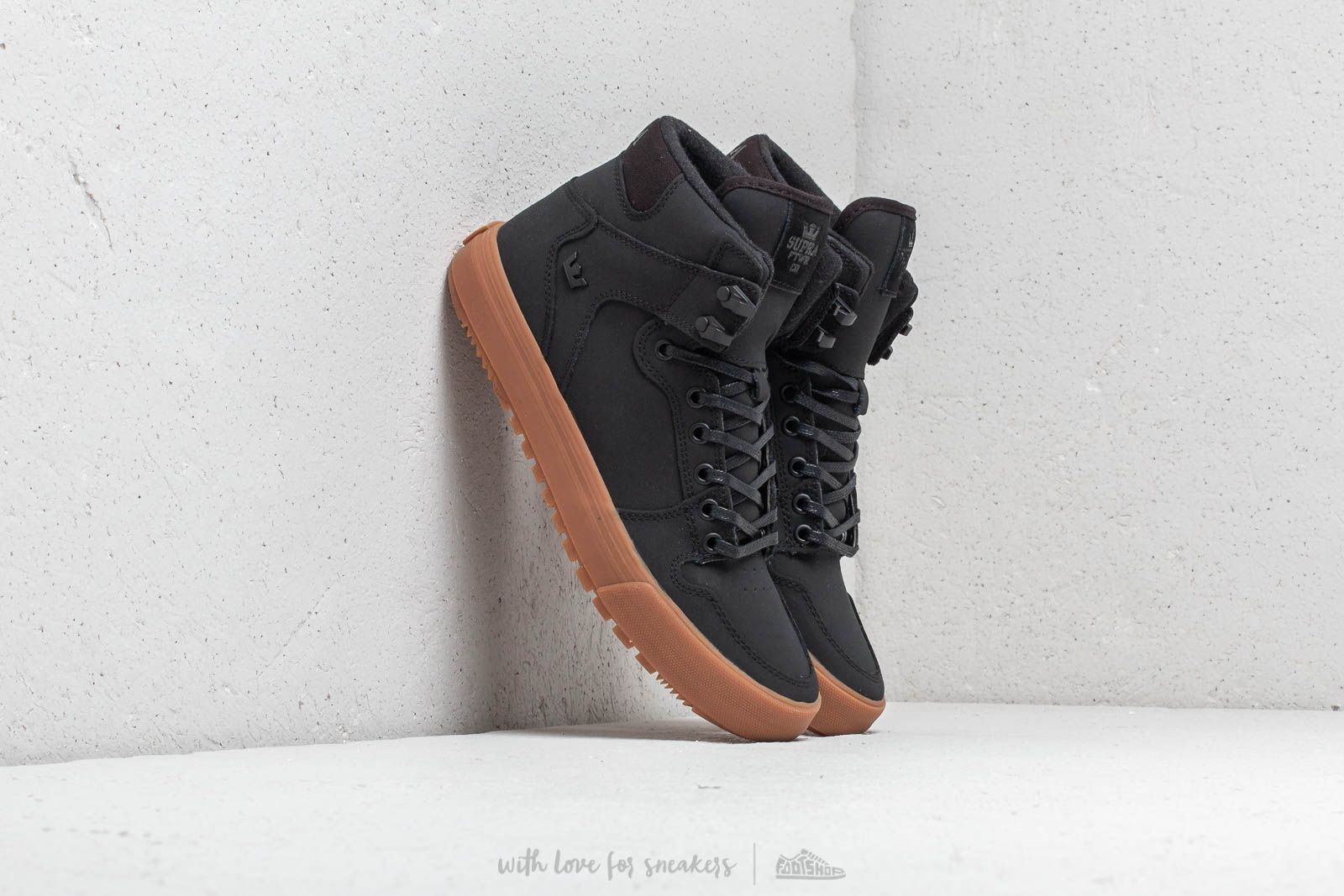 new style b2ff7 6c04b Supra Vaider Cold Weather Black  Black-Gum at a great price 110 € buy