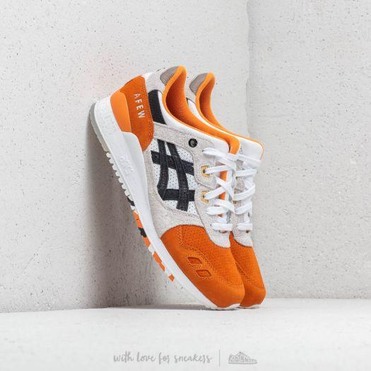 super popular 4b215 6a3b9 Asics x Afew x Beams Gel-Lyte III Orange/ Black | Footshop