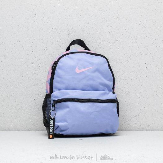 Nike Brasilia Just Do It Mini Backpack Purple Pink | Footshop