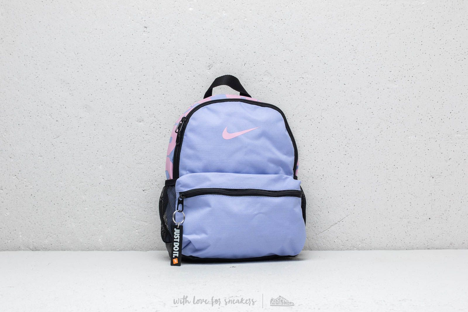 2600c9bdb9 Nike Brasilia Just Do It Mini Backpack Purple  Pink