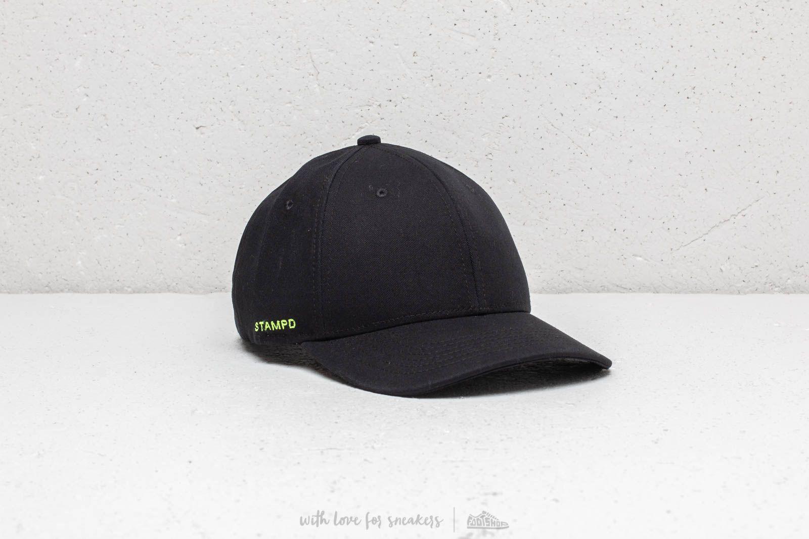 Kšiltovky STAMPD Sports Cap Black