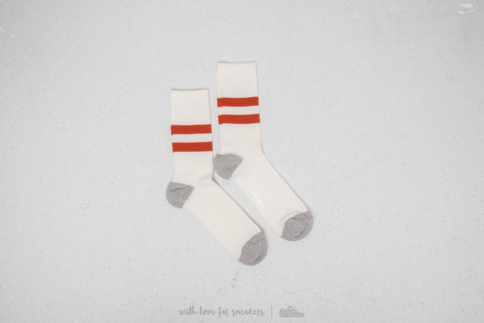 Norse Projects Bjarki Sport Socks Signal Orange za skvelú cenu 14 € kúpite na Footshop.sk
