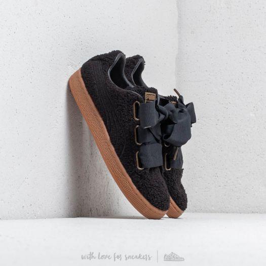 Women's shoes Puma Basket Heart Teddy