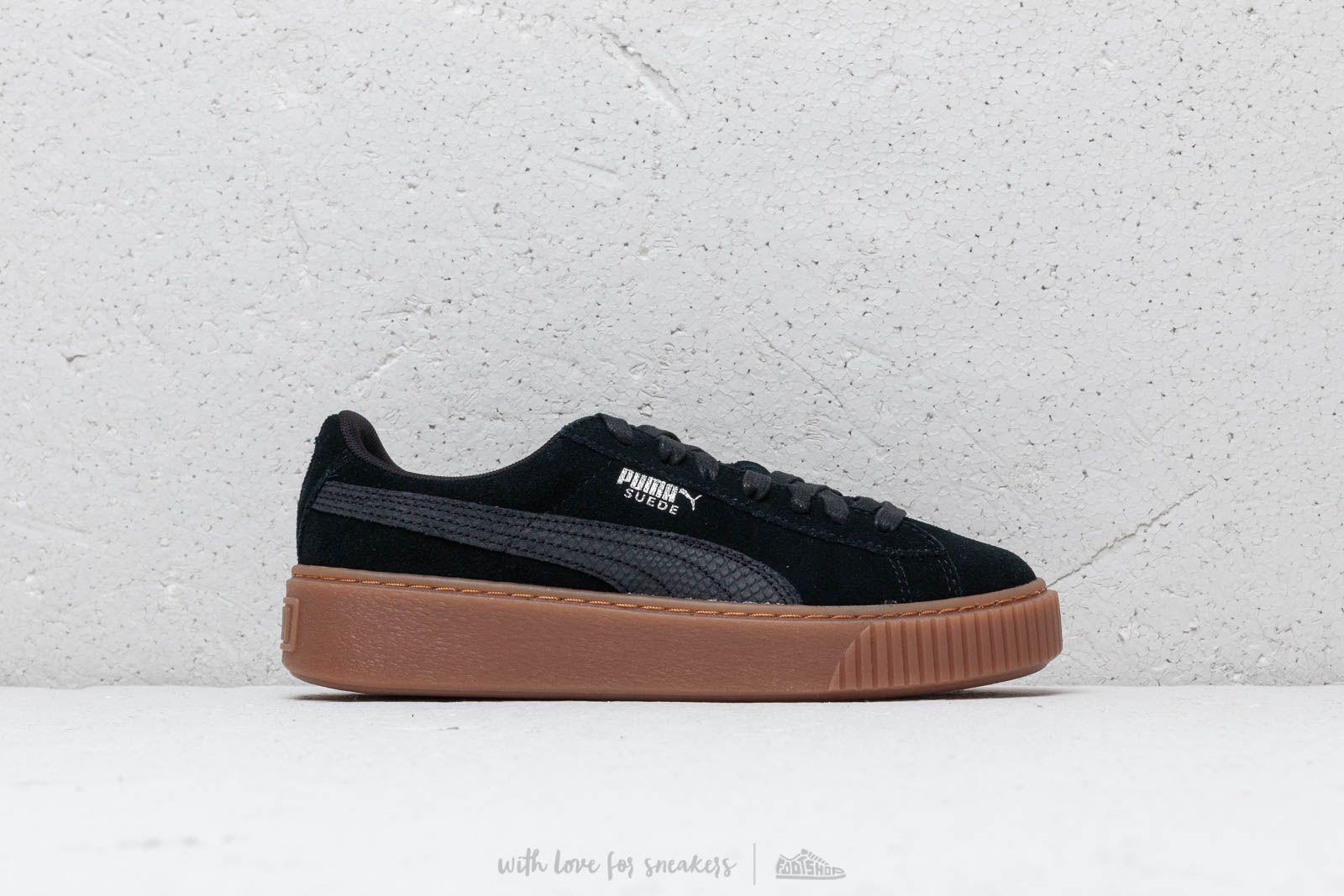 Women's shoes Puma Suede Platform