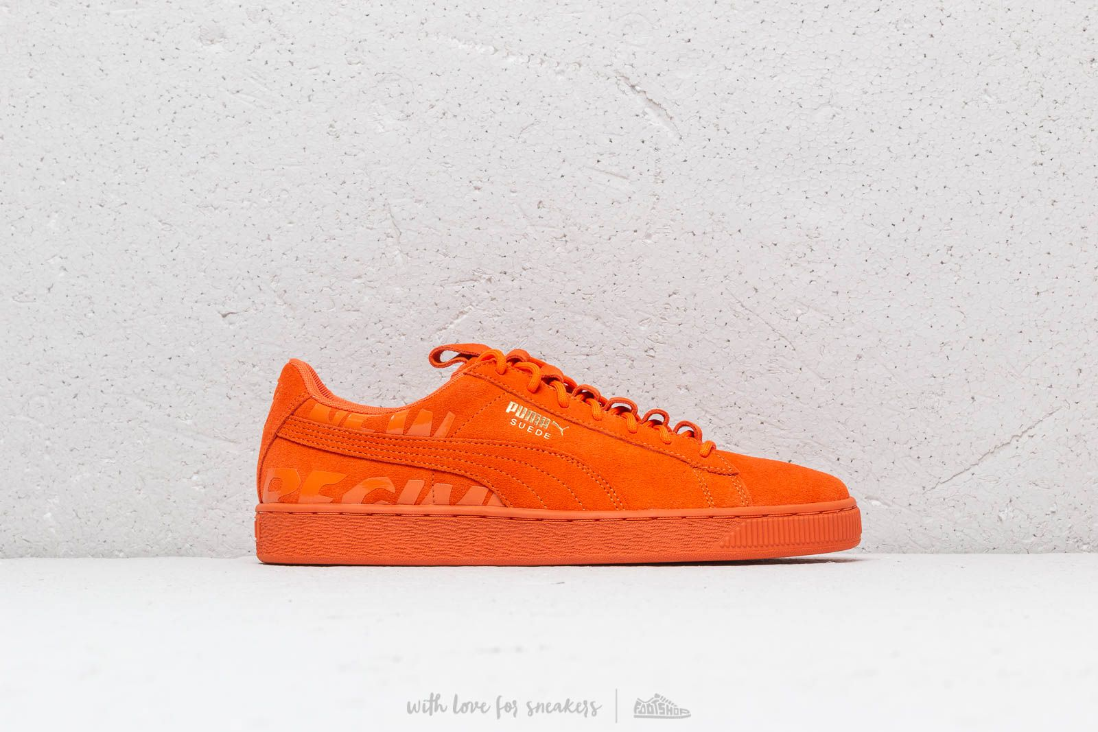 afc48b08d6a Puma x Atelier New Regime Suede Scarlet Ibis  Scarlet Ibis at a great price  110
