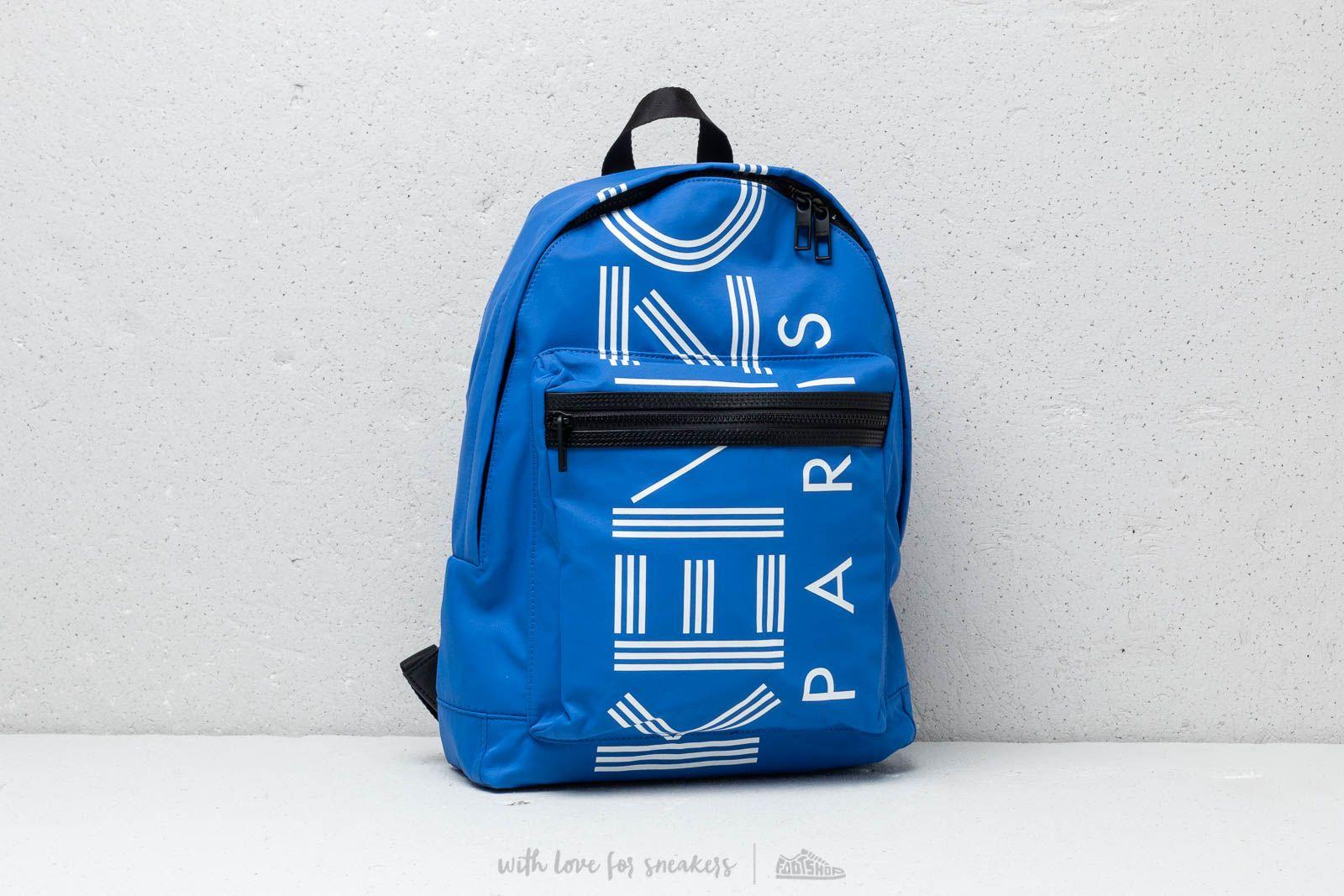 KENZO Large Logo Backpack Blue za skvelú cenu 103 € kúpite na Footshop.sk
