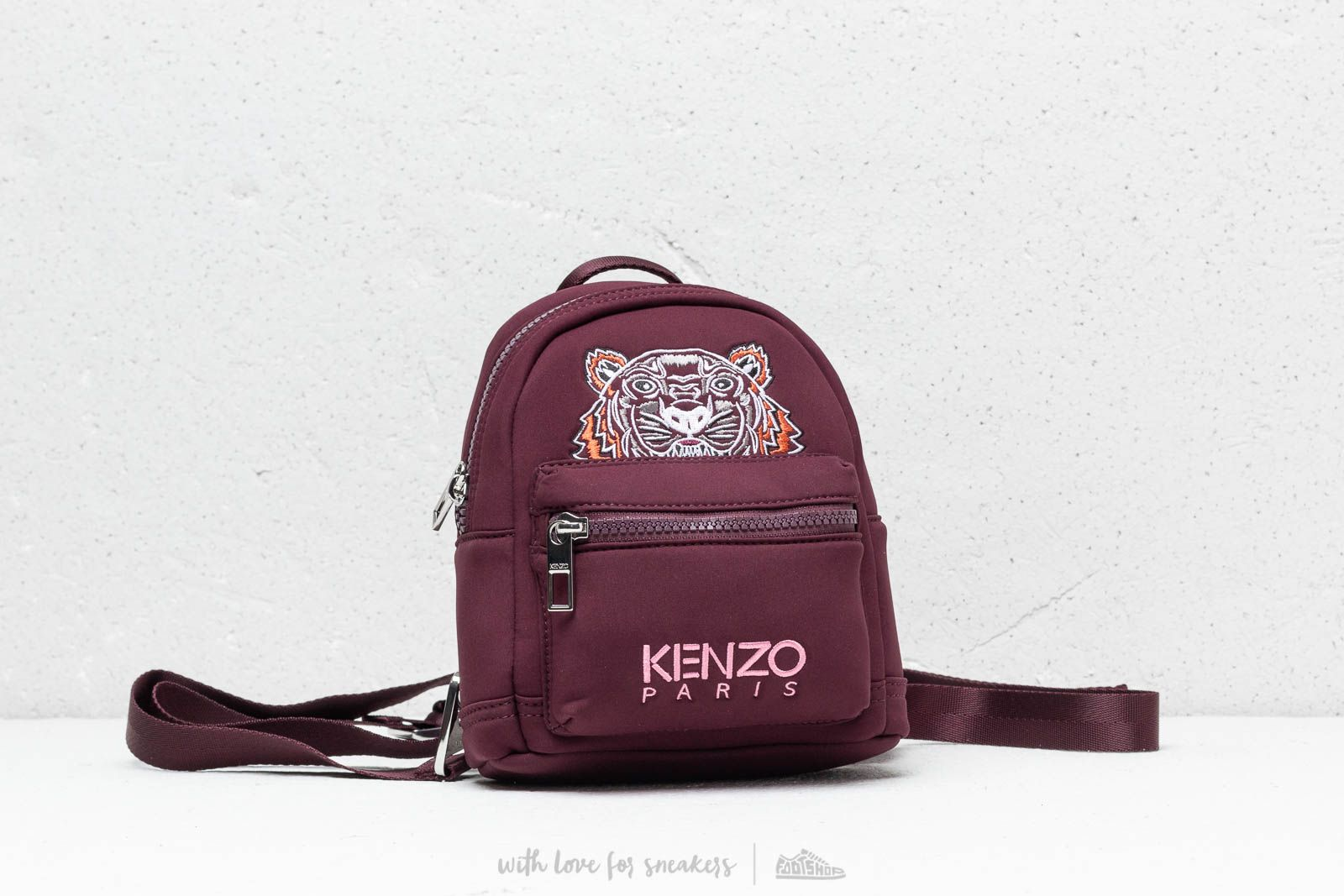 525aa6899 KENO Mini Tiger Canvas Backpack Blue | Footshop