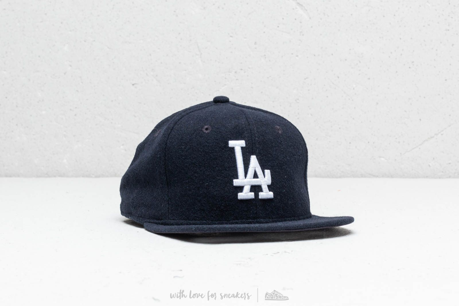 51185a2011b New Era 9Fifty MLB Los Angeles Dodgers Melton Cap Navy at a great price 37 €