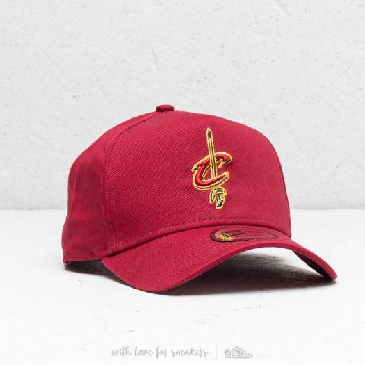 New Era NBA Cleveland Cavaliers Aframe Cap Red  84cb9c05ea