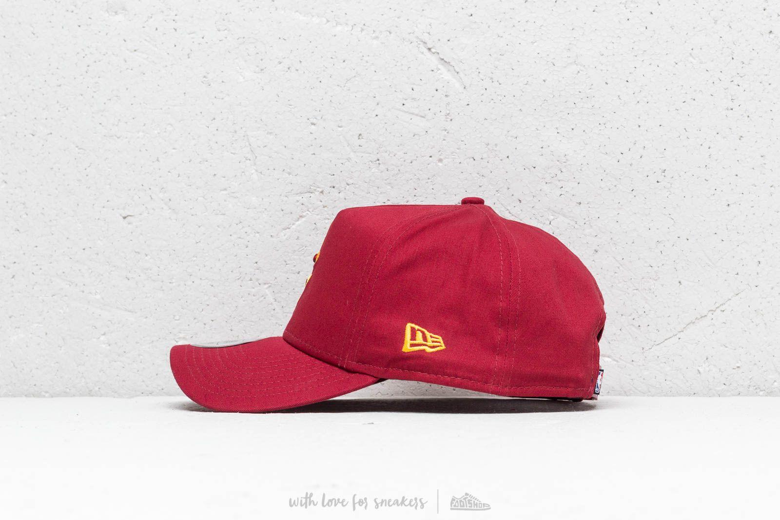 New Era NBA Cleveland Cavaliers Aframe Cap Red za skvělou cenu 690 Kč  koupíte na Footshop a0e5b8e93e