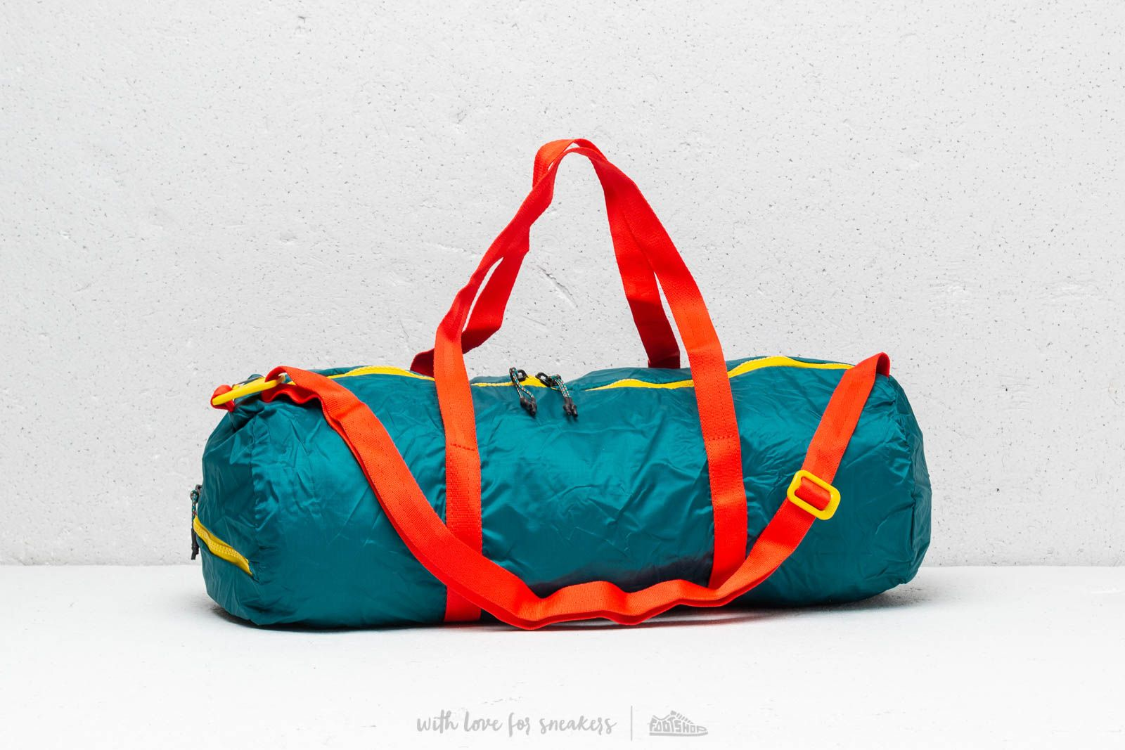 f39a26b9e Nike ACG Packable Duffle Bag Geode Teal/ Geode Teal/ Habanero Red at a great