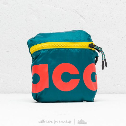 Nike ACG Packable Backpack Teal Yellow Red | Footshop