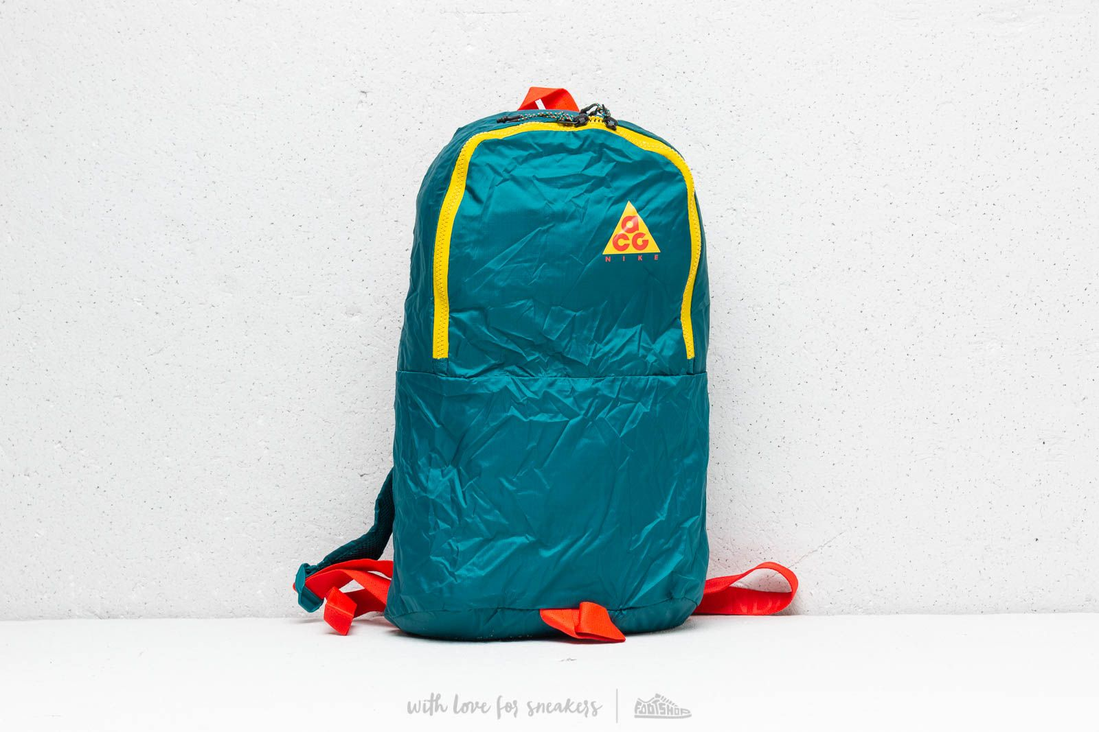 Nike ACG Packable Backpack Teal  Yellow  Red at a great price 32 € buy
