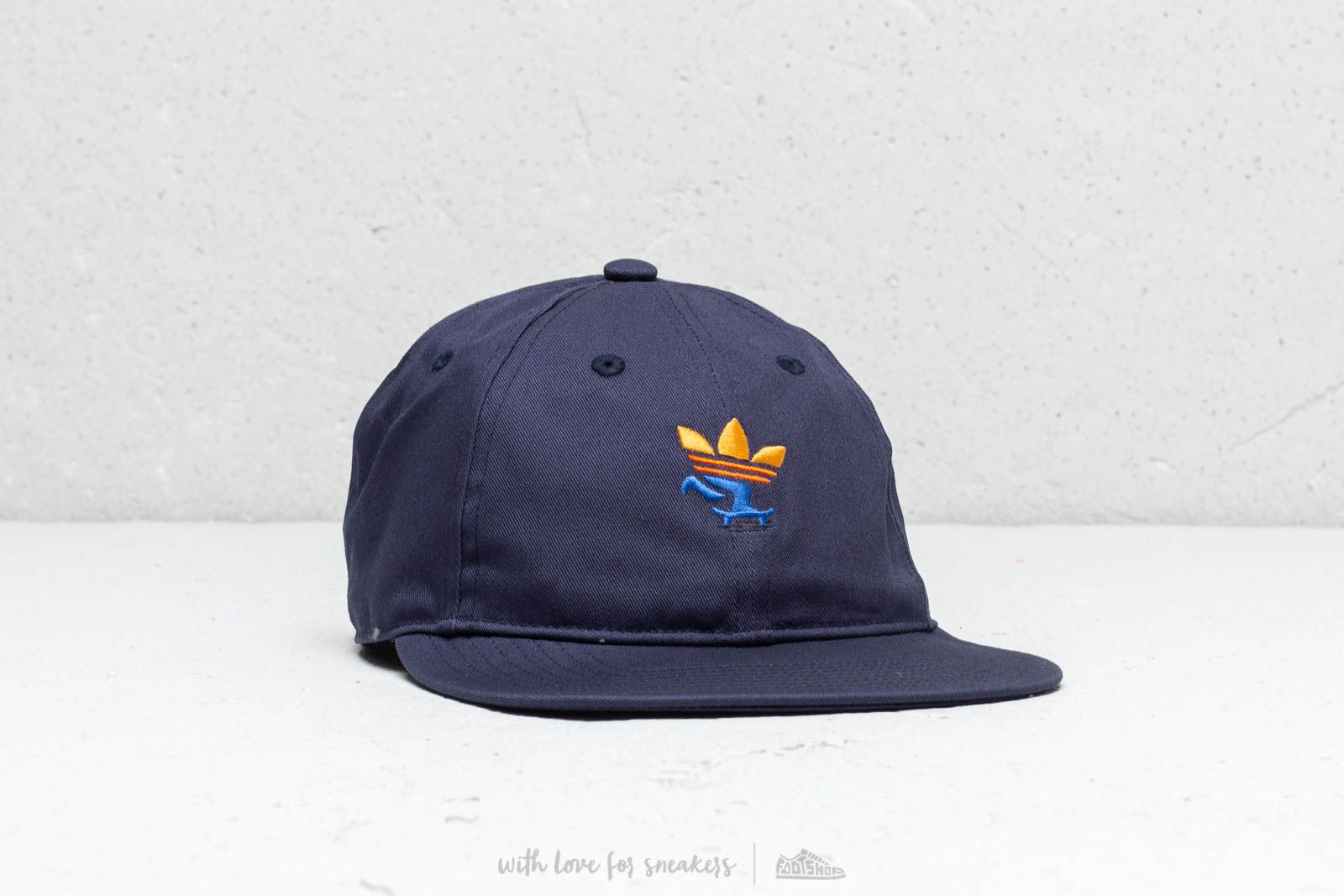 d65a666013cba2 adidas Six-Panel Push Strapback Collegiate Navy at a great price $39 buy at  Footshop