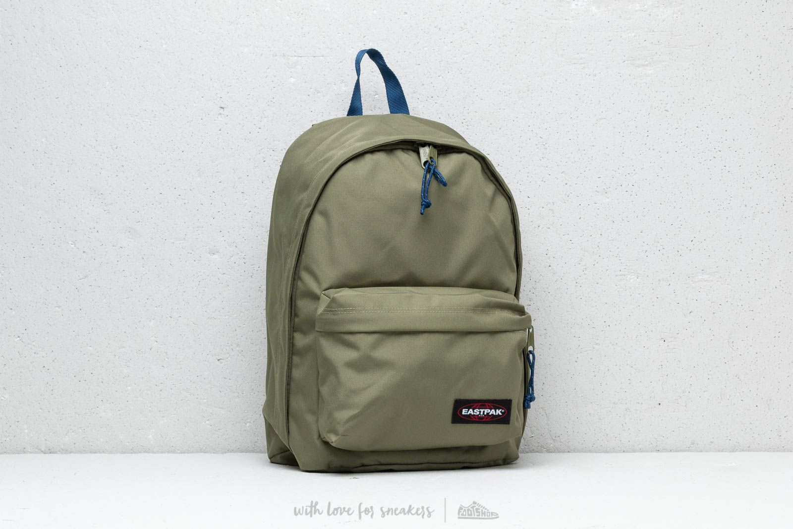 Eastpak Out Of Office Backpack Khaki/ Blue za skvelú cenu 42 € kúpite na Footshop.sk