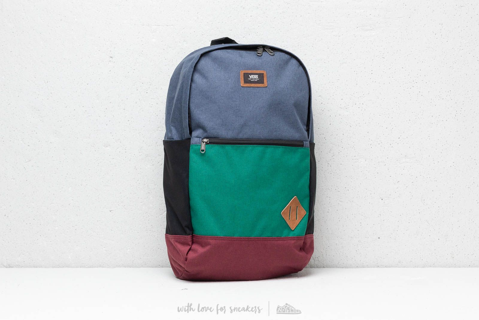Vans Doren III Backpack Evergreen/ Dress Blue