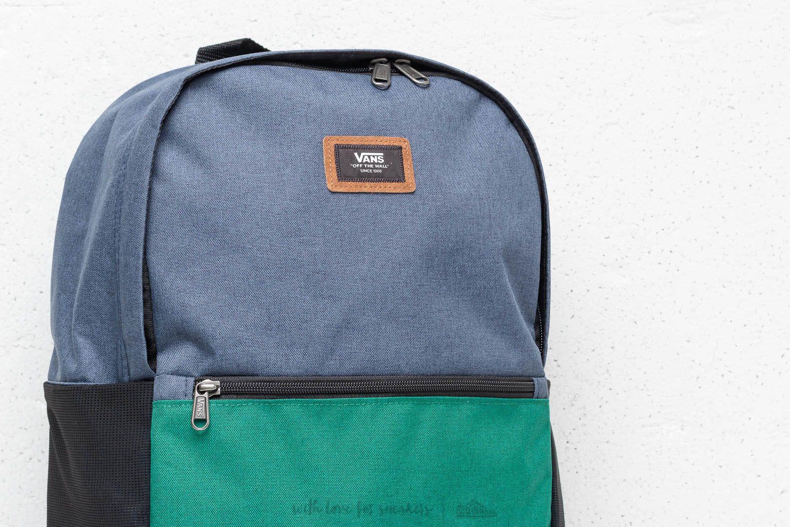 Vans Doren III Backpack Evergreen Dress Blue   Footshop