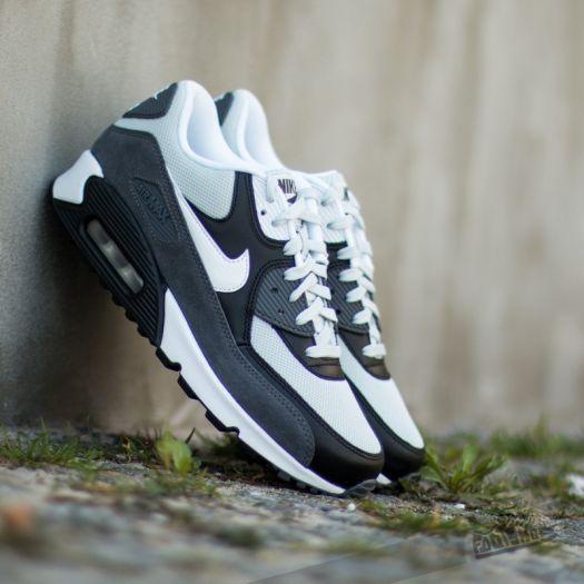 Nike Air Max 90 Essential Grey Mist White Black Dark