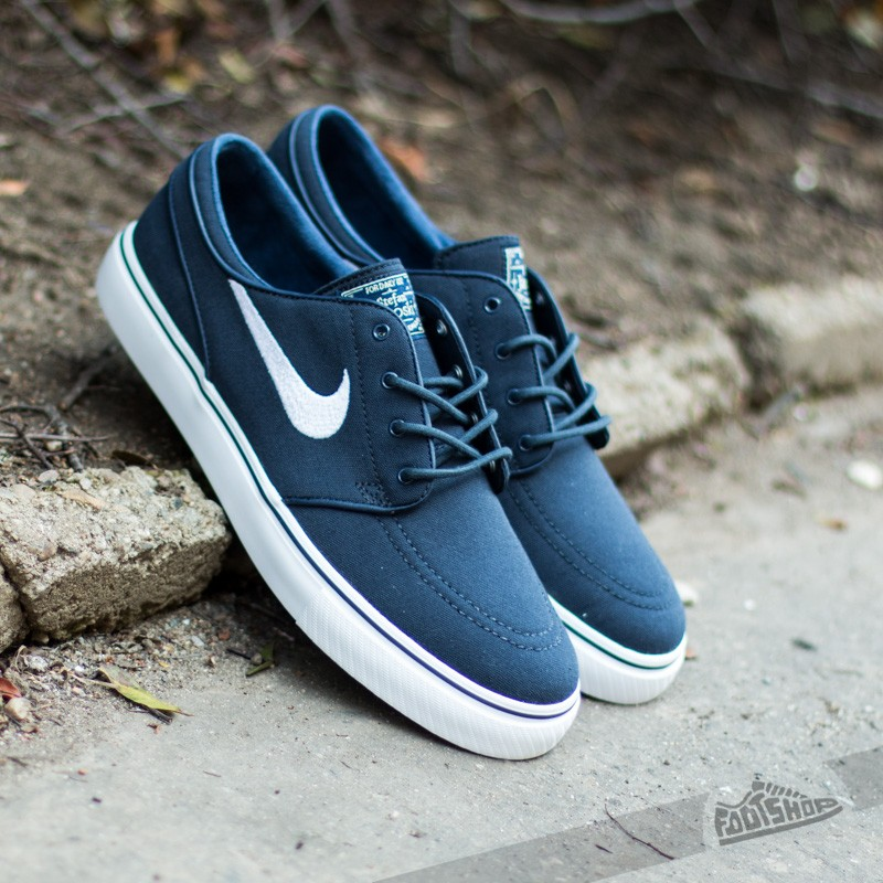 Condicional Gruñido lobo  Men's shoes Nike Zoom Stefan Janoski CNVS Obsidian/White-Gum Light  Brown-Mettalic | Footshop
