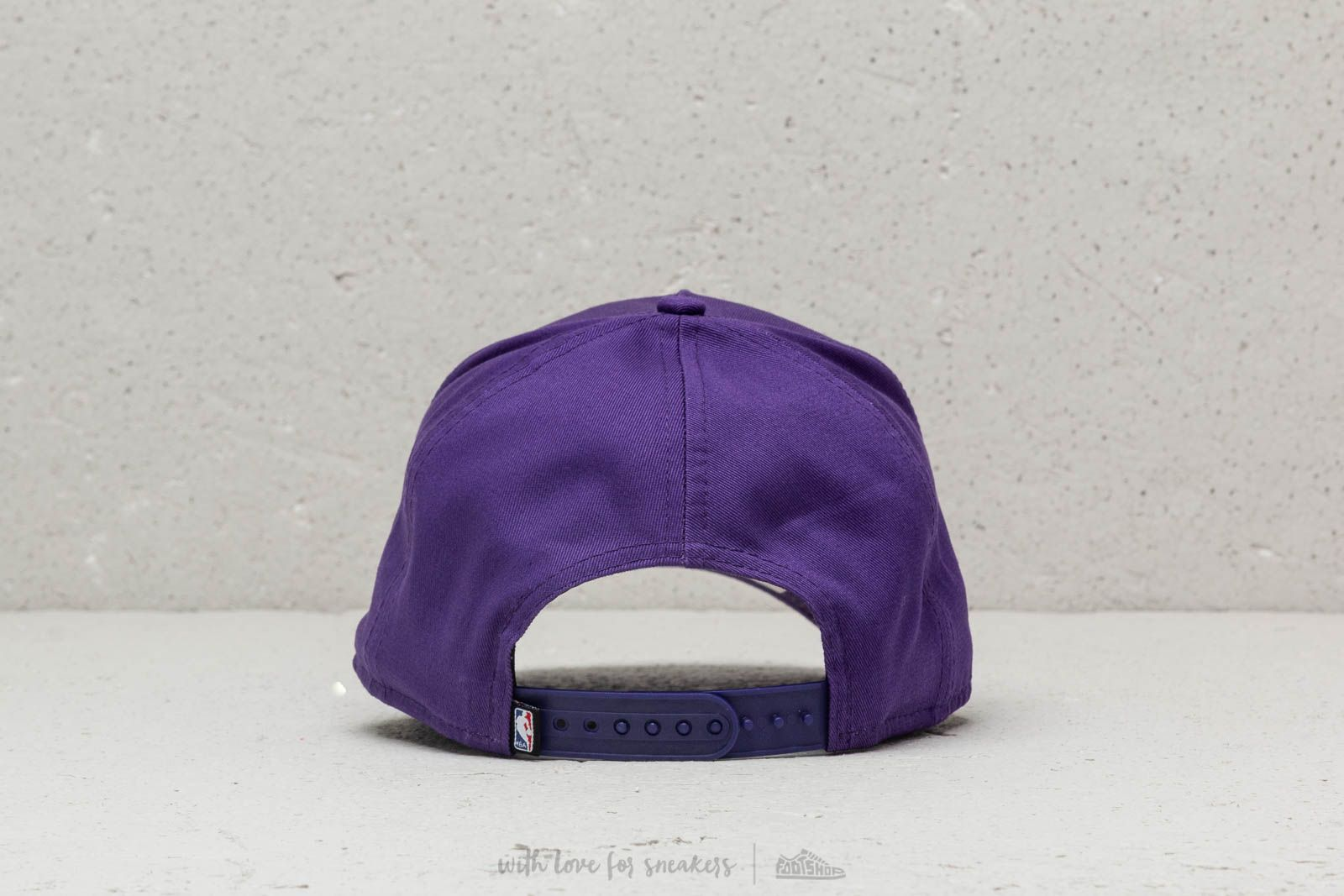70e791a83e104 New Era NBA Team LA Lakers A-Frame Snapback Purple at a great price  30