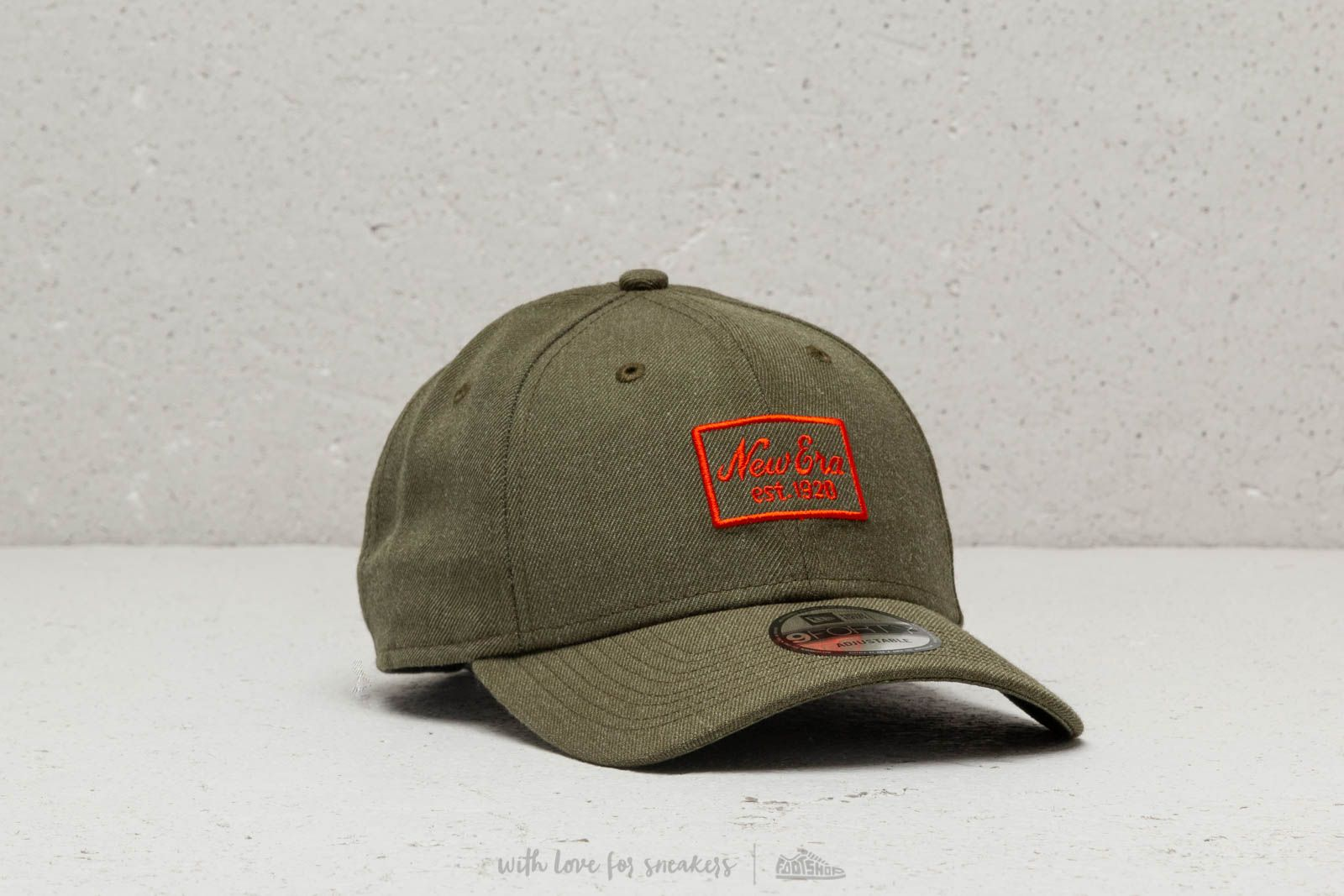 New Era Heather 9Forty Strapback Olive at a great price 26 € buy at Footshop 0e2c9ec91ee