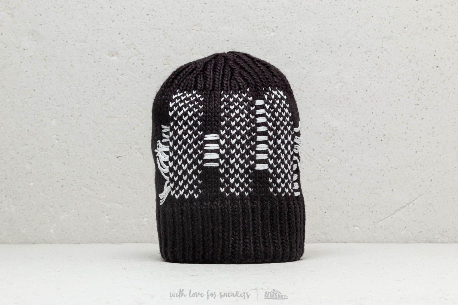 3265709967b Y-3 Knit Beanie Black Noir
