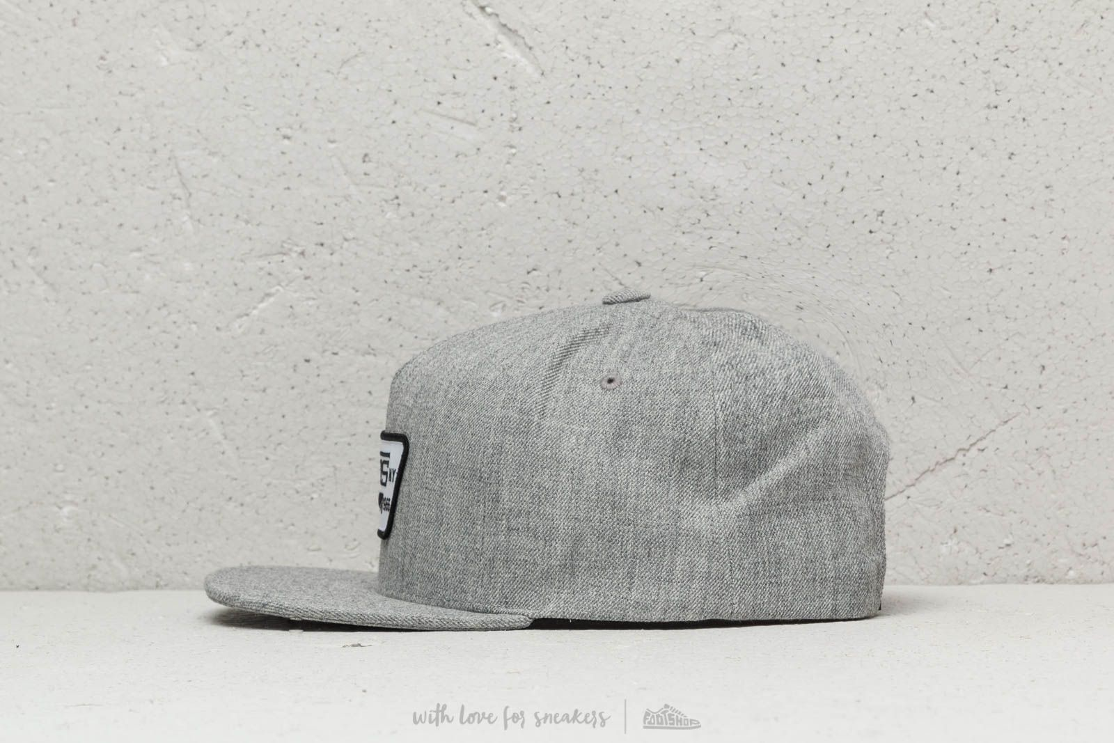 8449d797d153e1 Vans Full Patch Snapback Heather Grey at a great price $30 buy at Footshop