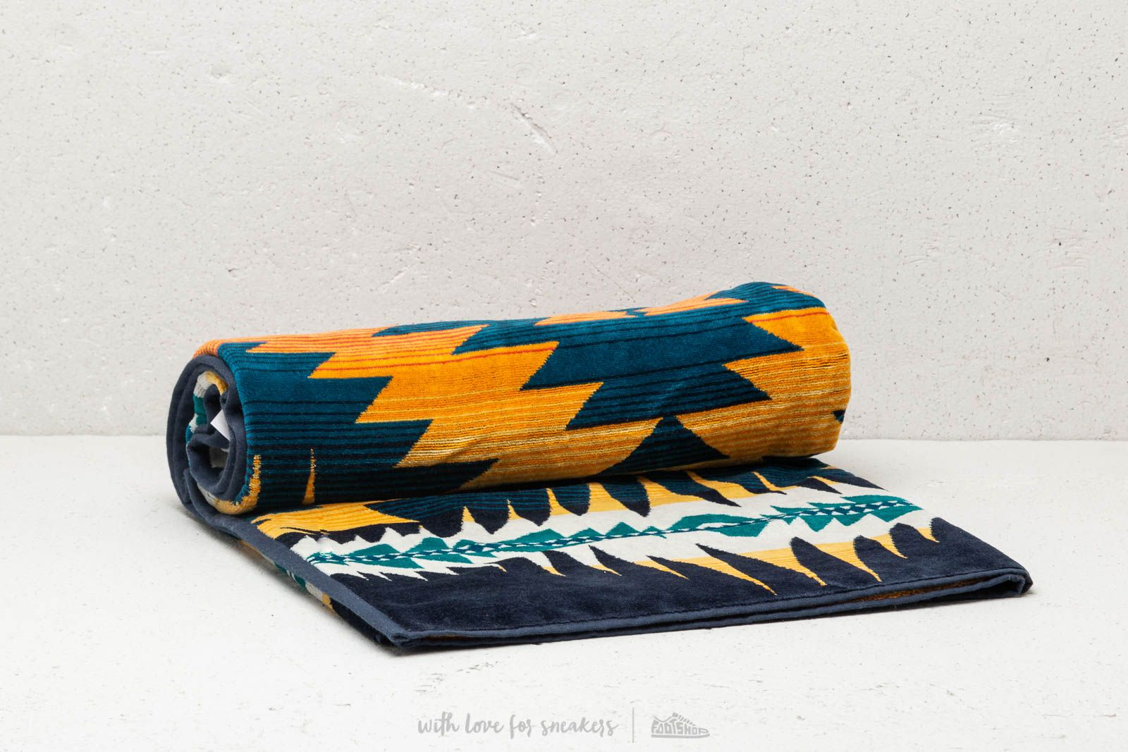 Pendleton Night Dance Oversized Beach Towel Indigo