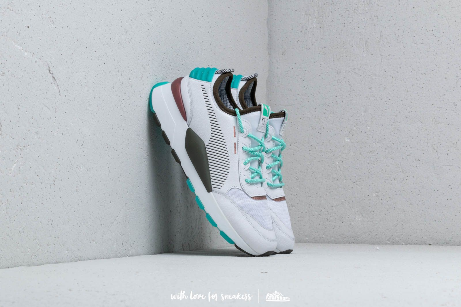 a730ae60d002 Puma RS-0 x Emory Jones Puma White  Biscay Green at a great price