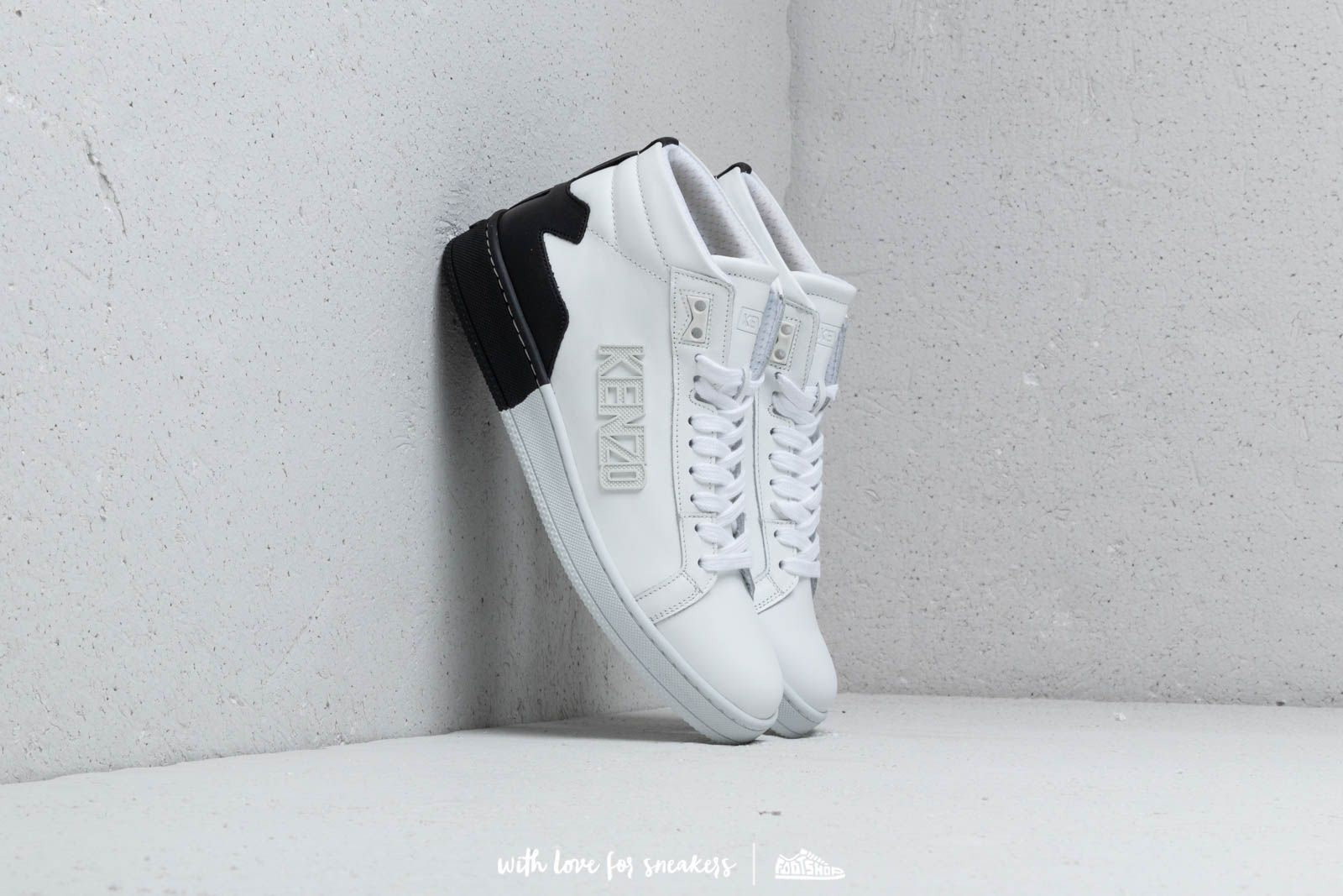 Kenzo High Top Tennix Sneakers