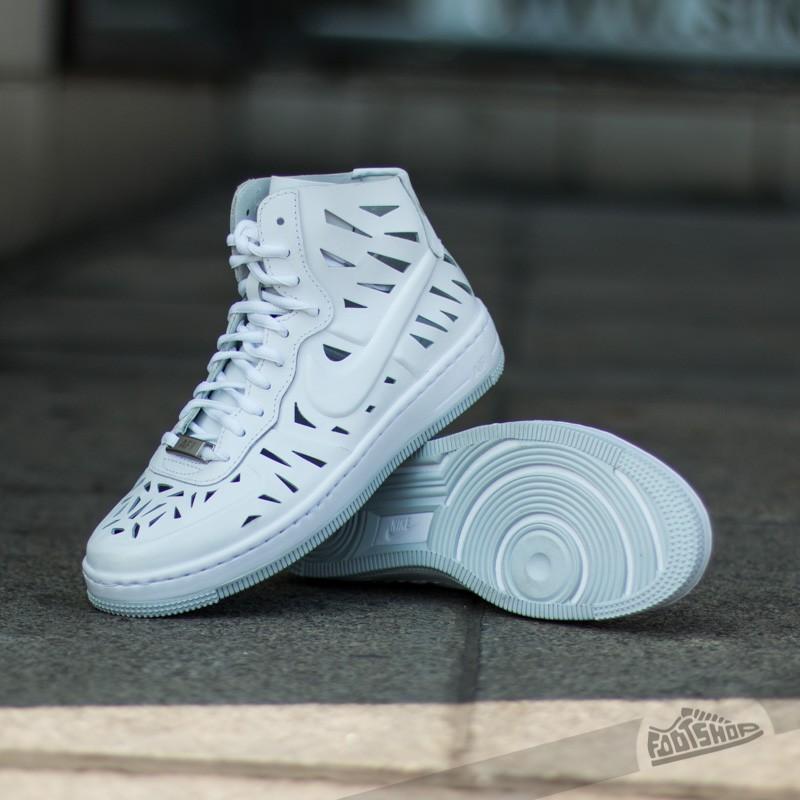 Nike W AF1 Ultra Force Mid Joli WhiteWhite Pure Platinum