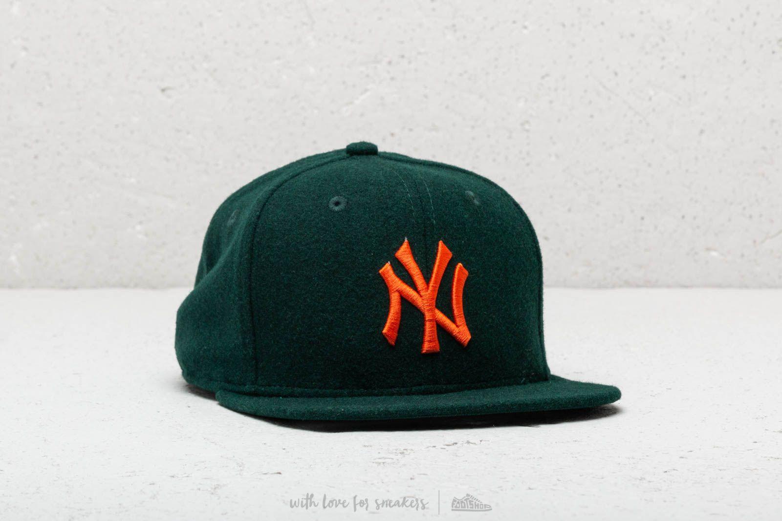 Kšiltovky New Era Winter Utility Melton New York Yankees Green